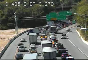 Madison : 495 east accident