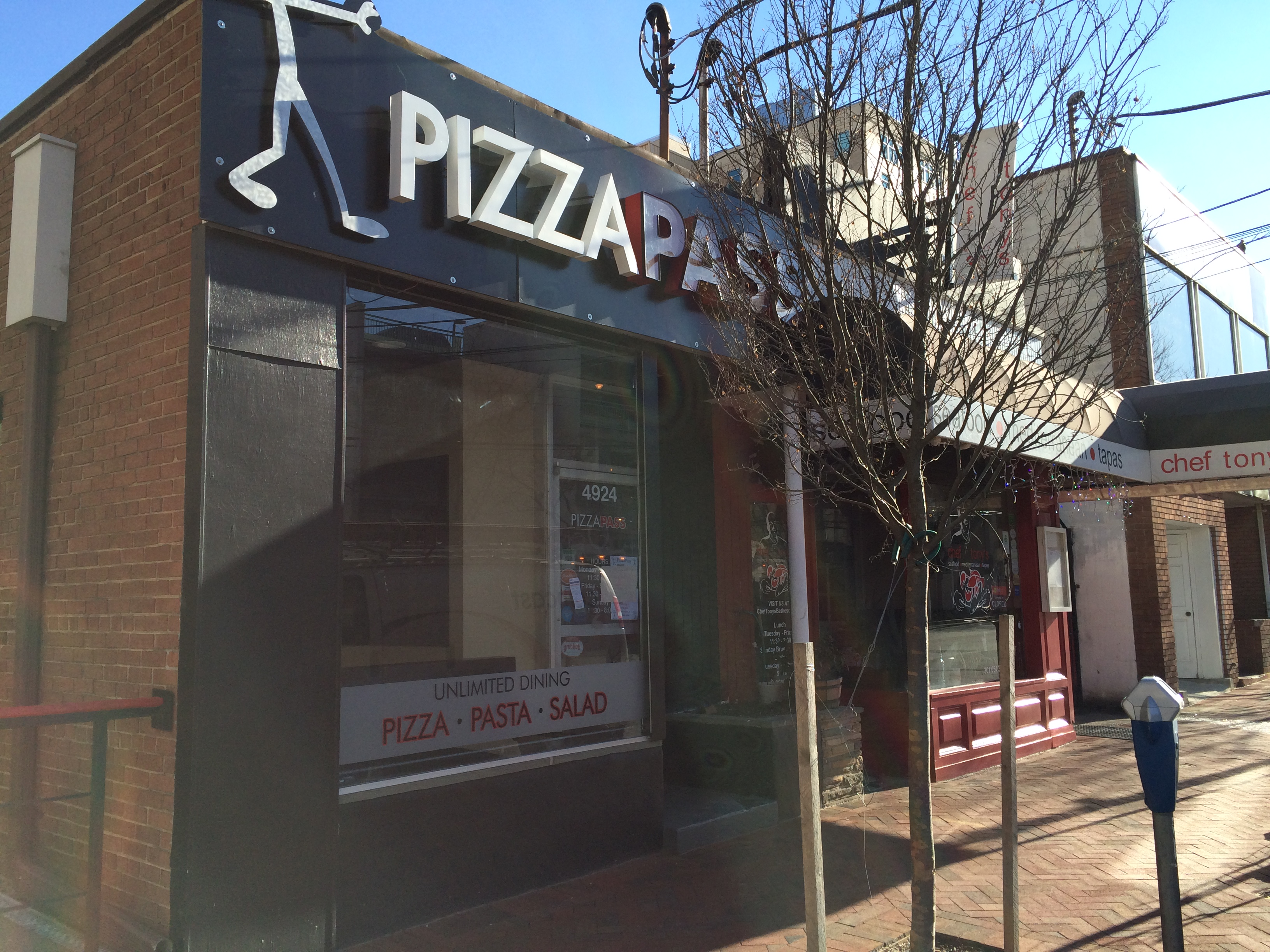 Pizzapass Closes In Woodmont Triangle