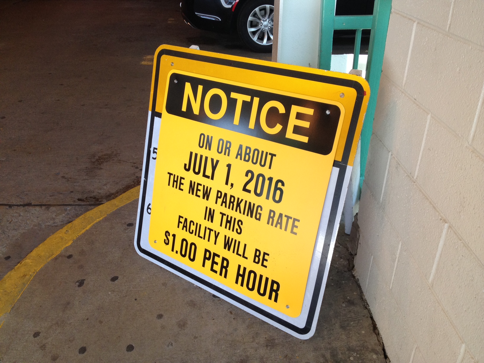 Parking Fees Going Up At Three Bethesda Garages