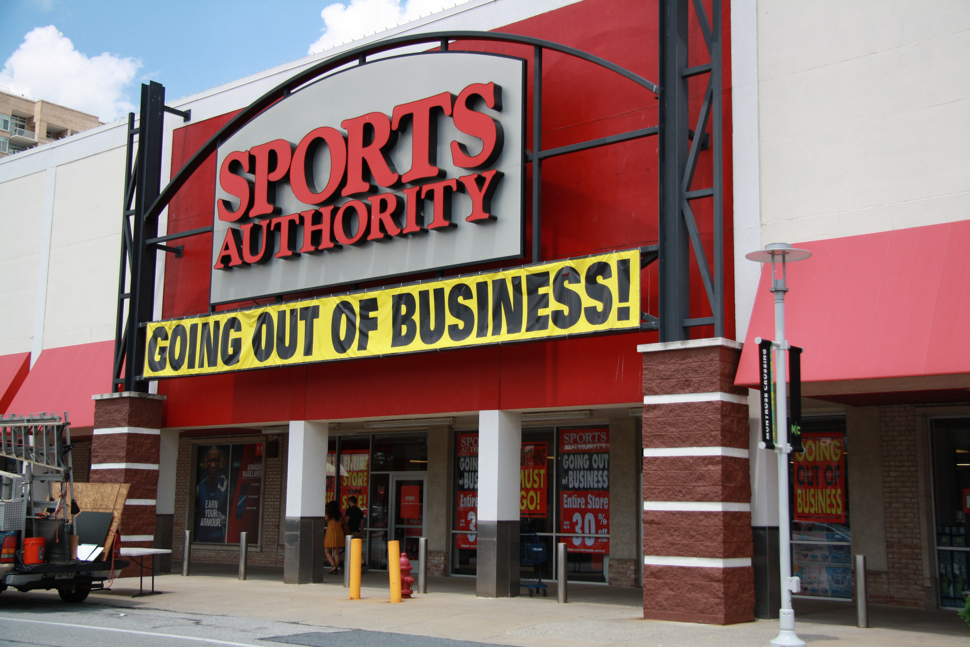 sports authority business going august before rockville closure holding notes web bethesda beat montrose authoirty crossing having