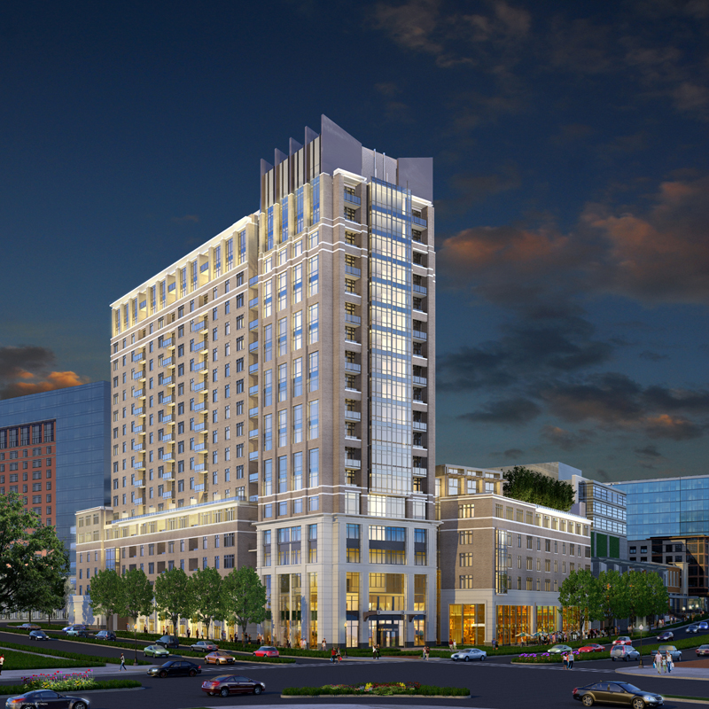 Apartments In Bethesda: Newest North Bethesda Apartment Building Calls On Hotel