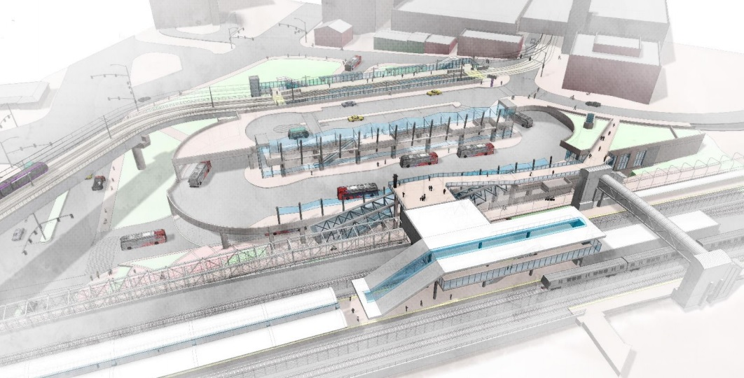 new renderings show changes to purple line station at silver spring
