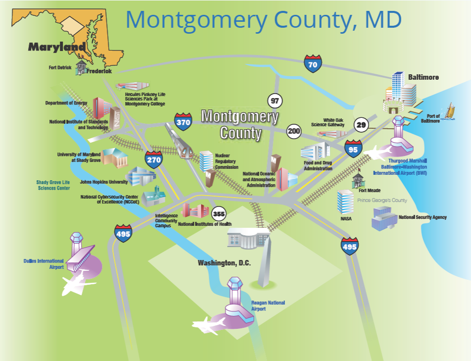 Here S What Montgomery County Highlighted In Its Bid For Amazon S