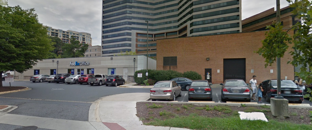 demolition of former fedex kinkos buildings for purple line construction in downtown silver spring to start monday - Fedex Garden City