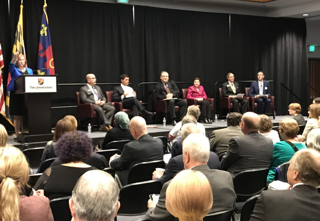 County Executive Candidates Pitch Plans To Deal with Struggling