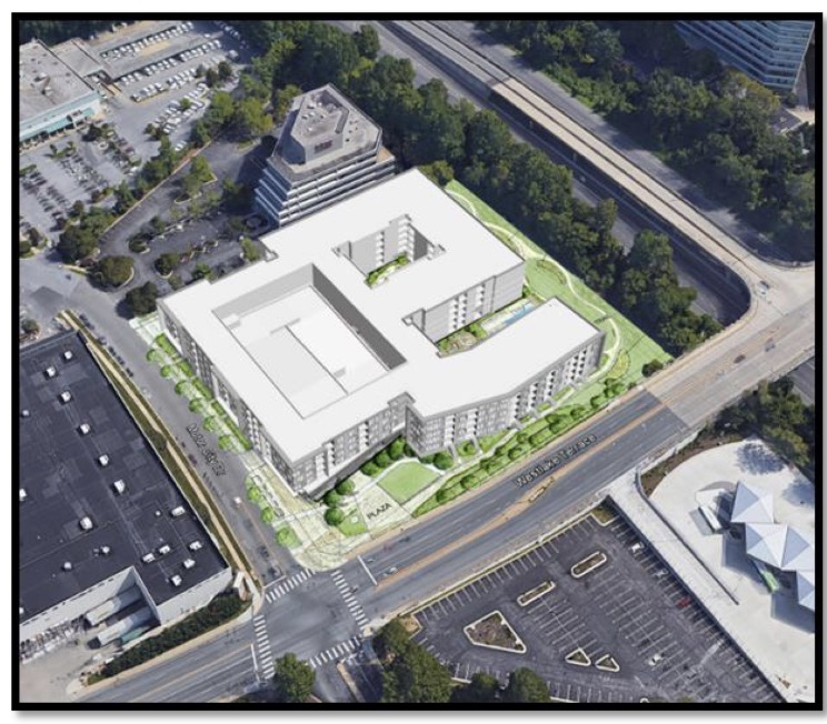 Ford Dealership Building Designs: Proposal For Apartment Complex Near Westfield Montgomery