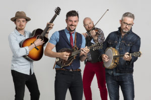 Irish Quartet We Banjo 3 at AMP by Strathmore on Wednesday, April 25, 2018 @ N. Bethesda | MD | United States
