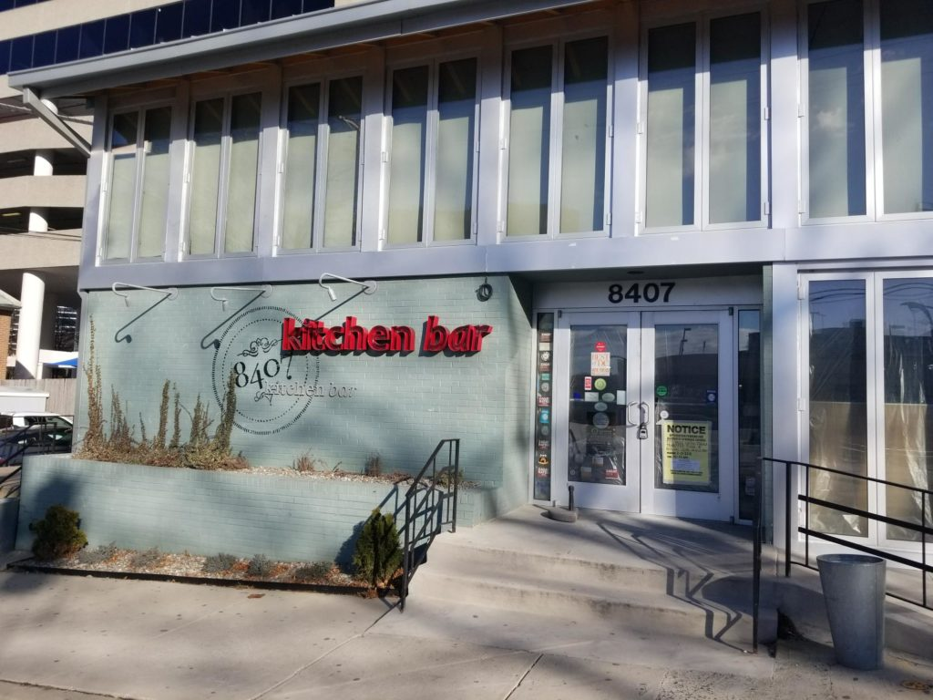 a new restaurant is moving into 8407 ramsey ave - 8407 Kitchen Bar