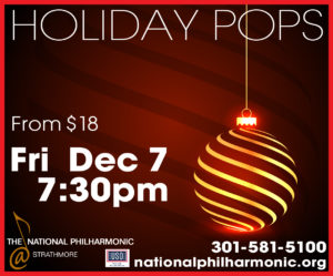 Holiday Pops with Soprano/Actress Iyona Blake - Victoria Gau, conductor @ Music Center at Strathmore