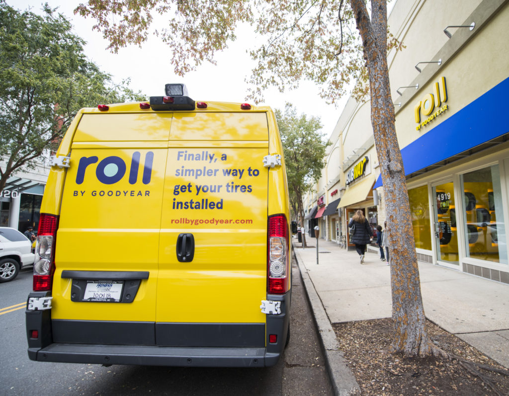 Business Notes Goodyear Opens Roll A Bethesda Tire Installation