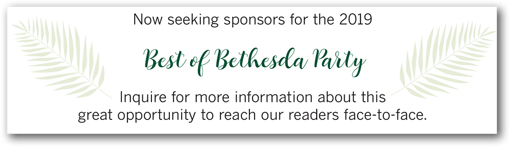 Best of Bethesda Party Sponsorship