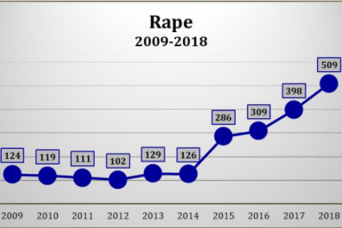 Image result for sex assault increases