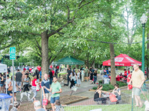 PARKS, PARTY & PLAY – Bethesda Yappy Hour @ Elm Street Park