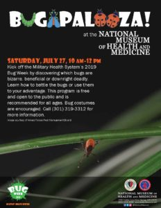 Bugapalooza at the Medical Museum @ National Museum of Health and Medicine