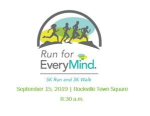 Run for EveryMind 5K Run/3K Walk @ Rockville Town Square
