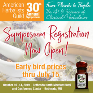 American Herbalists Guild Annual Symposium @ Bethesda North Marriott Hotel and Conference Center
