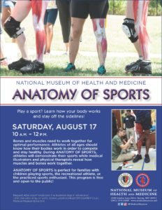 Anatomy of Sports @ National Museum of Health and Medicine