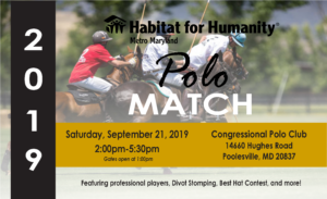 Habitat for Humanity Metro Maryland's Inaugural Polo Match @ Congressional Polo Club