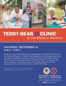Teddy Bear Clinic at the Medical Museum @ National Museum of Health and Medicine