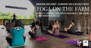 Yoga and Wine at Rocklands Farm Winery @ Rocklands Farm Winery