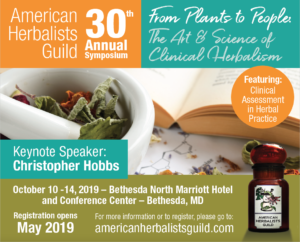 American Herbalists Guild Symposium: From Plants tp People @ Bethesda North Marriot Hotel and Conference Center