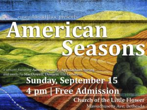American Seasons: Music Inspired by the Heartland @ Church of the Little Flower