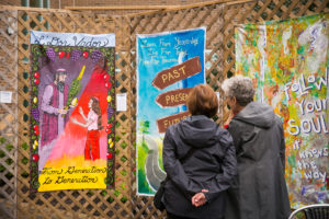 Art Exhibit: Under One Roof: Raise Your Voice | A Collaborative Community Art Project @ Bender JCC of Greater Washington