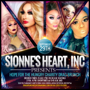 Hope For The Hungry Charity Drag Brunch @ Flanagan's Harp N Fiddle