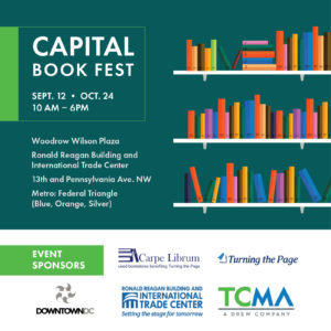 Capital Book Fest @ Woodrow Wilson Plaza