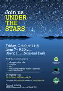 A Starry Night to Benefit the SEED Classroom @ Black Hill Regional Park