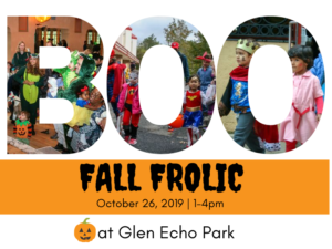 Fall Frolic @ Glen Echo Park