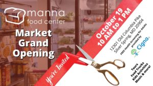 Manna Food Center Ribbon Cutting & Community Block Party @ Manna Market