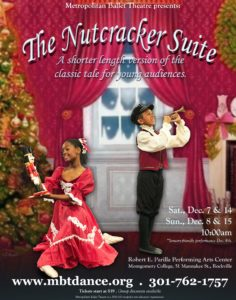 MBT's The Nutcracker Suite , Sensory-friendly performance @ Robert E. Parilla Performing Arts Center - Montgomery College