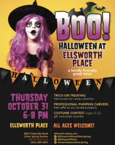 BOO! A Safe Halloween Event at Ellsworth Place @ Ellsworth Place