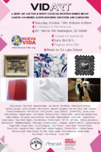 VIDART - Silent Art Auction @ Art Museum of the Americas