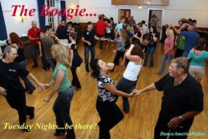 West Coast Swing Lessons & Dance Social at the Boogie! @ Womans Club of Bethesda