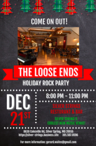 The Loose Ends' Holiday Party at Silver Strings @ Silver Strings |  |  |