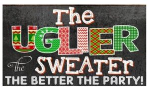 Ugly Sweater Party @ Caddies