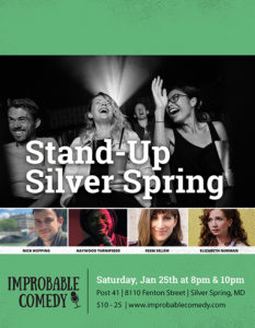 Stand-Up Silver Spring @ Post 41