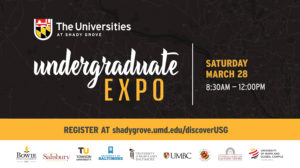 USG Undergraduate Expo @ The Universities at Shady Grove