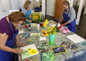 Senior Art Club @ CREATE Arts Center |  |  |