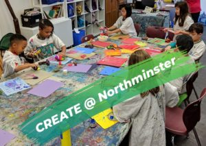 Summer Art Camp with CREATE @ Northminster @ Northminster Presbyterian Church | | |