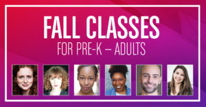 Arena Stage Virtual Fall Classes @ Arena Stage  |  |  |