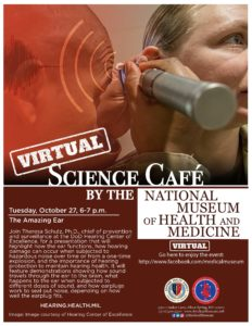 Virtual Medical Museum Science Cafe: The Amazing Ear @ National Museum of Health and Medicine - @MedicalMuseum on Facebook |  |  |