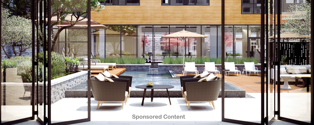 Luxury condos, townhomes and apartments