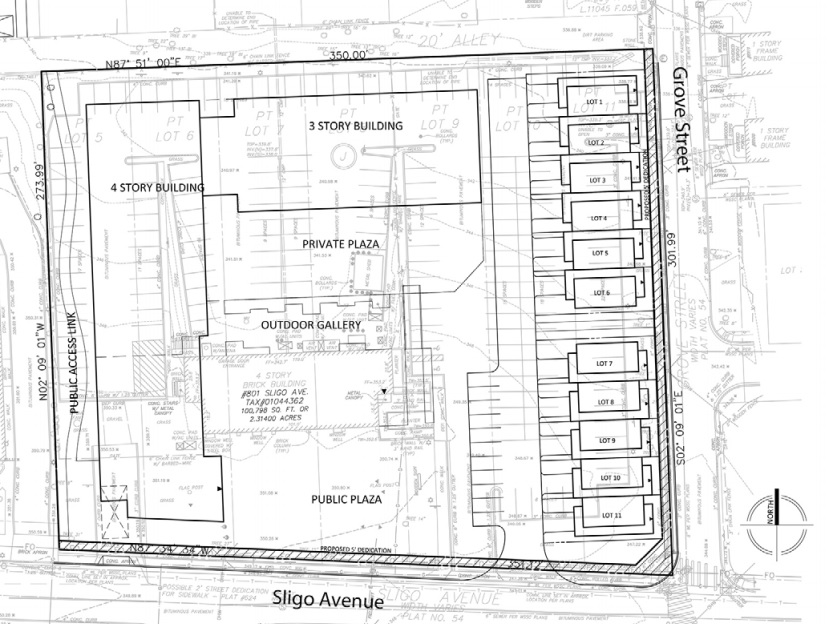 Artspace Is Asking For A Commercial Residential Mixed Use Zone With A Maximum Building Height Of 65 Feet To Accommodate The Project