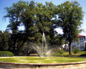 Francis G. Newlands Fountain in Chevy Chase Circle, Photos via Wikimedia by AgnosticPreachersKid
