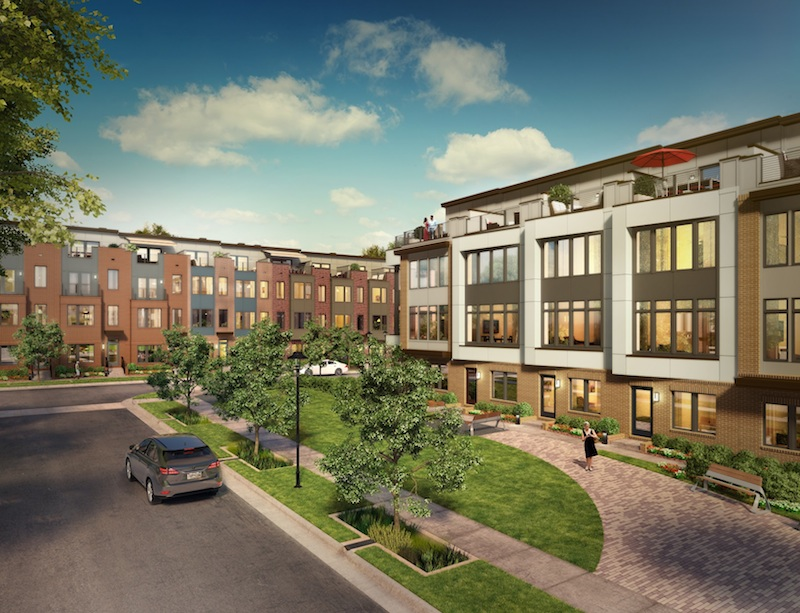 County And Developer To Offer Affordable Town Homes At Rockville Project Thro