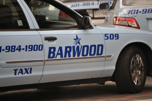 Barwood drivers gather in downtown Bethesda (file photo)