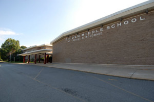 Tilden Middle School (the former Woodward High School) at 11211 Old Georgetown Road, via MCPS
